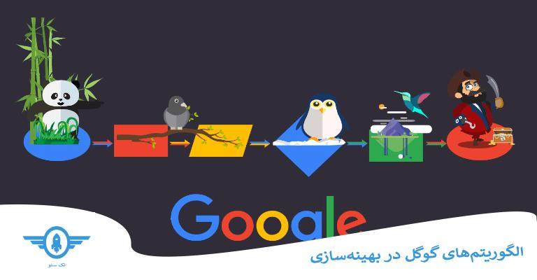 الگوریتمهای گوگل